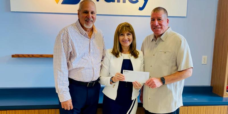 Thank You to Valley Bank